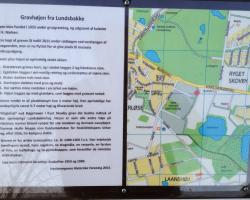 Søndersø - Lundsgraven. Skilt