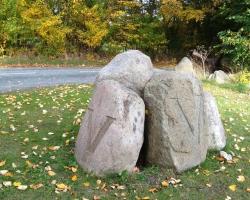 Flyvestation Værløse - Tyske sten