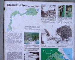 Mølleåen - Strandmøllen Skilt